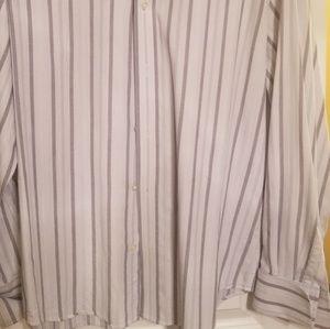 Express Shirts - Express French Cuff Button Up Dress Shirt